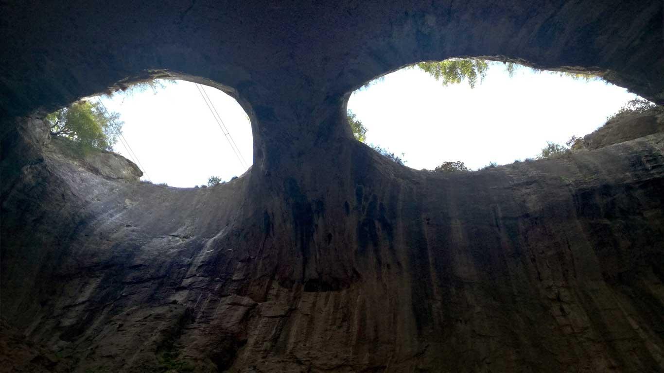 Пещера Проходна, Очите на Бога, Божиите очи, Очите на Господ
